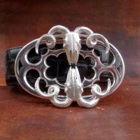 double_ram_skull_sterling_silver_belt_buckle