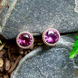 plum-garnet-earrings
